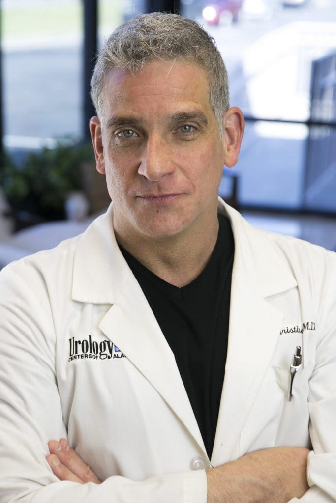 Dr. Brian Christine, Director of Erectile Restoration, Prosthetic Urology and Male Genital Aesthetic Surgery, Urology Centers of Alabama